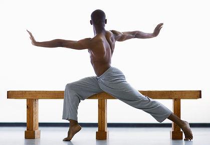 Männliche Balletttänzer