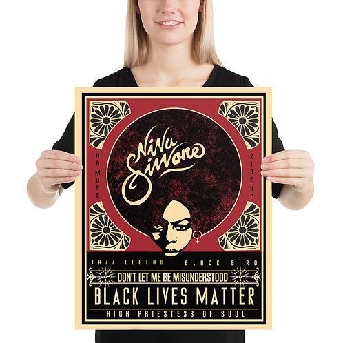 Nina Simone- Black Lives Matter 16x20 Poster=