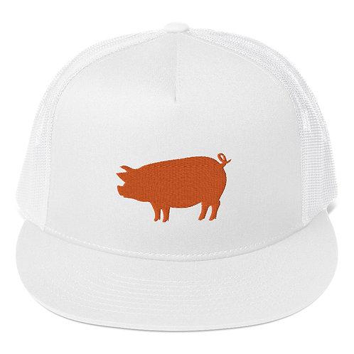 Mr. Pig Trucker Cap