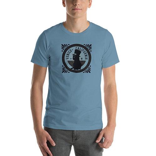Venice Cat Short-Sleeve Unisex T-Shirt