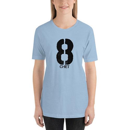 Chet Station 8 Short-Sleeve Unisex T-Shirt