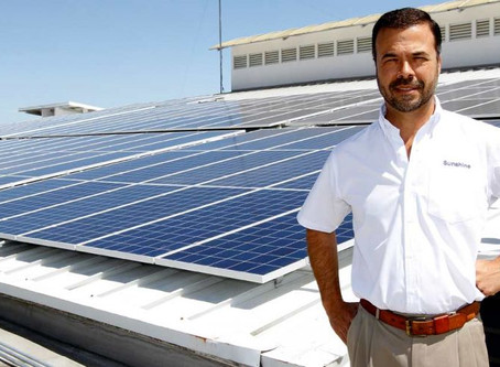 Compañías reducen su factura eléctrica gracias a paneles solares