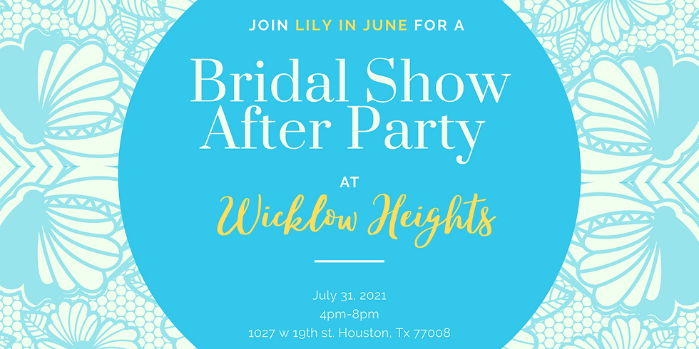Bridal Show After Party