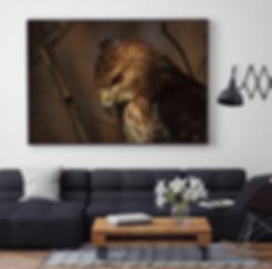 Canvas Print Mockup of 60x40_Stalking Ha