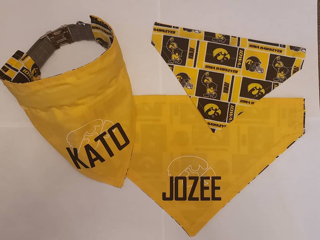 Personalized Hawkeye Bandana