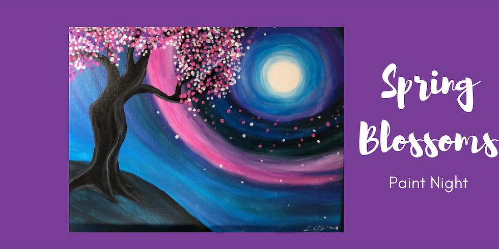 Spring Blossoms Paint Night - CANCELLED