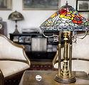 ティファニーランプや装飾