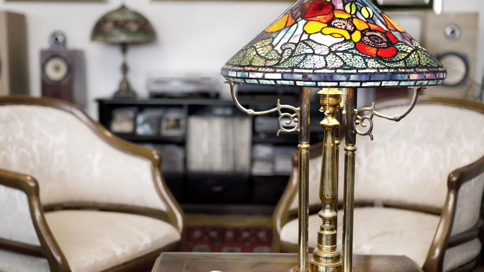 Tiffany Lamps and Decor