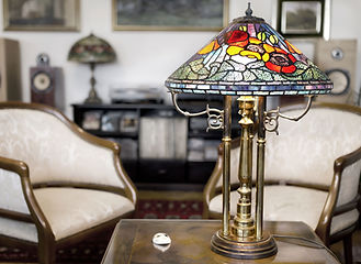 Tiffany Lamps and Decor