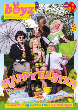 Boyz Magazine - Easter cover