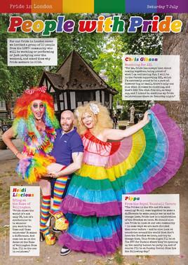 BOYZ Magazine - Pride in London editorial