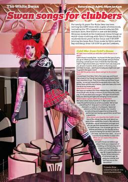 Boyz Magazine editorial - Cybil's House