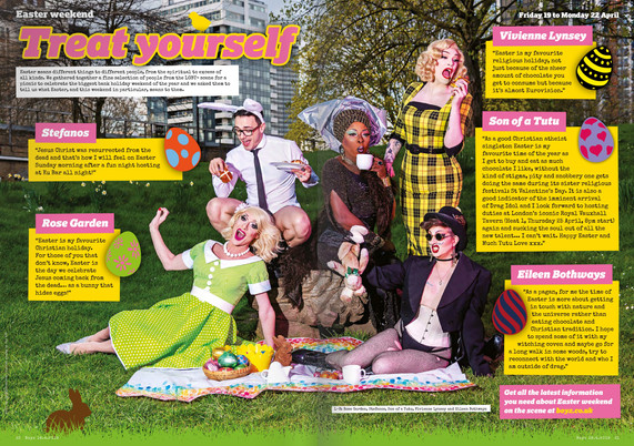 Boyz Magazine - Easter editorial