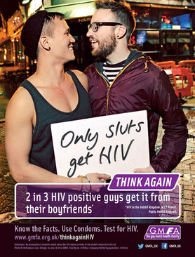 GMFA - Think Again campaign