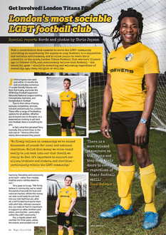 BOYZ Magazine - Titans FC editorial