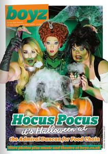 BOYZ Magazine - Halloween cover