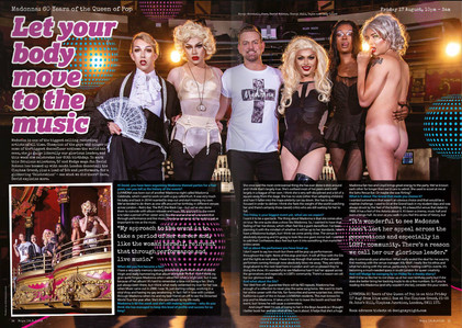 BOYZ Magazine - Madonna editorial