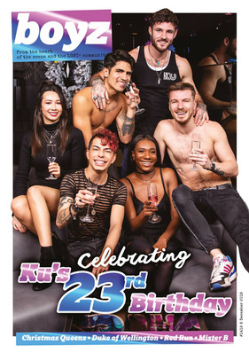 BOYZ Magazine - Ku Bar 23rd Birthday cover