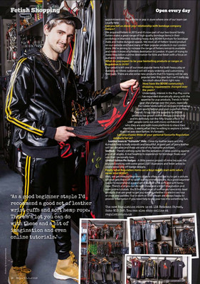 BOYZ Magazine - Regulation Soho editorial