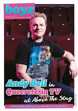 Boyz Magazine - Andy Bell cover