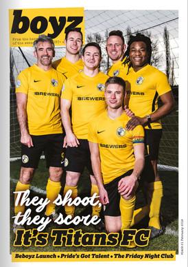 BOYZ Magazine - Titans FC cover