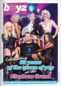 BOYZ Magazine - Madonna cover