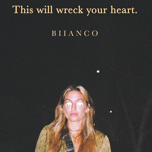 """""""This will wreck your heart."""" signed original poetry book"""