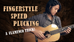 Fingerstyle Guitar Speed Plucking Technique (An EPIC Flamenco Trick!)