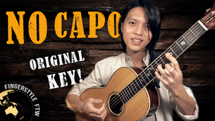Can I Play Any Guitar Song Without a Capo? (In the ORIGINAL KEY!)