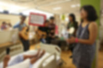 Music Community Outreach Hospital Ward Visit