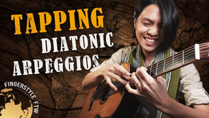 Tapping Diatonic Arpeggios on Guitar: Really, Really Master the Guitar!