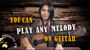 How to Figure Out a Song Melody on Guitar (Thank You Lord)