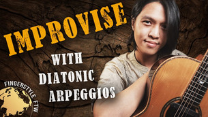 How to Improvise with Diatonic Arpeggios on Guitar: 4 Unique Approaches!