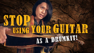 STOP Using Your Guitar as a Drum Kit! | Tips for Percussive Fingerstyle Guitar
