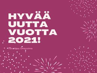 Hyvää uutta vuotta 2021!