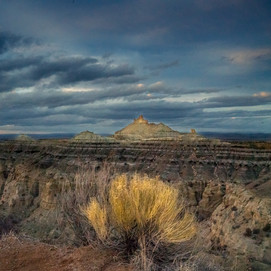 Angel Peak // Bisti Badlands