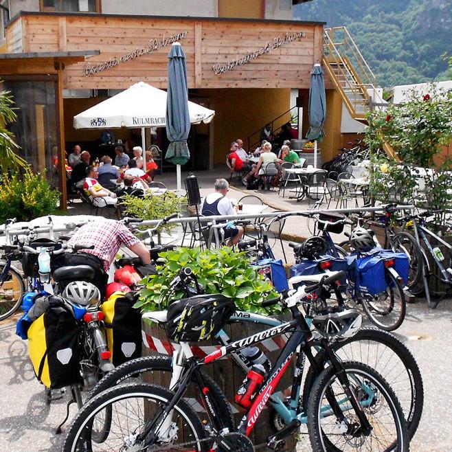 ALBERGABICI nun auch in Südtirol - ora anche in Alto Adige