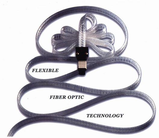 Flexible 12 Channel FiberOptic Cable