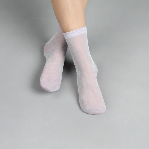 Glänzende Socken