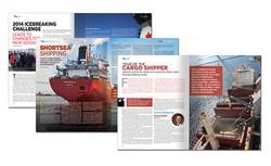 Marine Delivers Magazine Inside