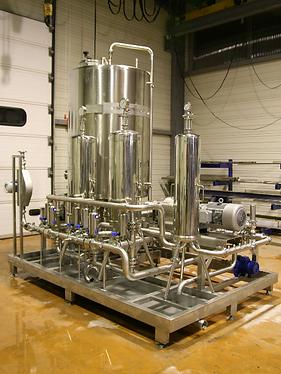Machine de filtration du vin, JMINOX Hérault Occitanie