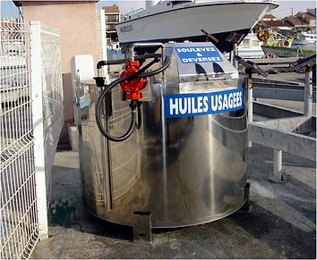 conteneur pour huiles usagées