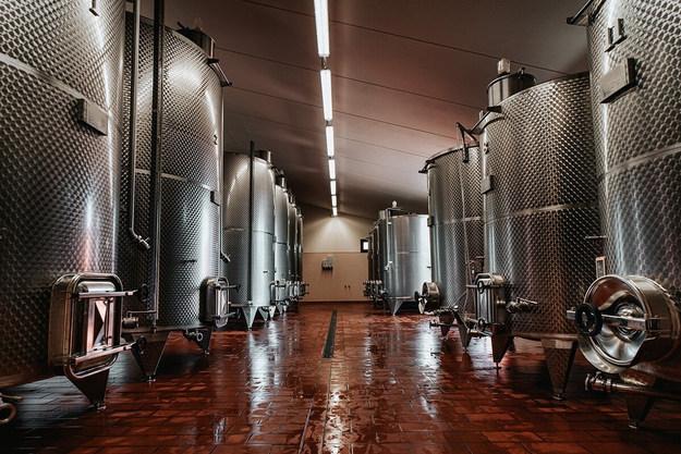 cuves à vin pour vinification et stockag