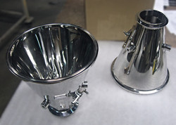 Stainless Steel Mirrored Cone (Funnel)