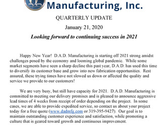 Check out our quarterly newsletter!