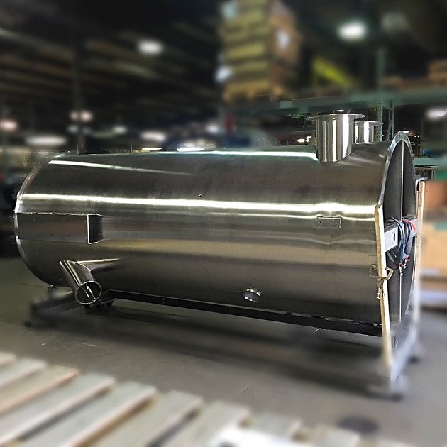 Large Filter Chamber Fabrication