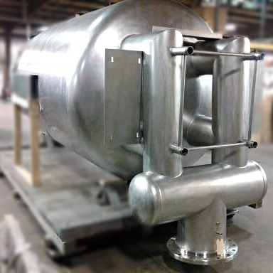 Pharmaceutical Vessel with Exhaust Tubes
