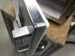 Stainless Steel Microwave Door