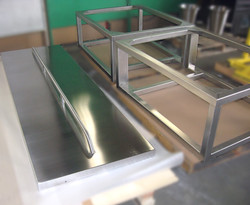 Stainless Steel Door and Square Frame