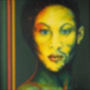 Sacha - Acrylique sur toile - 80 x 80.JP